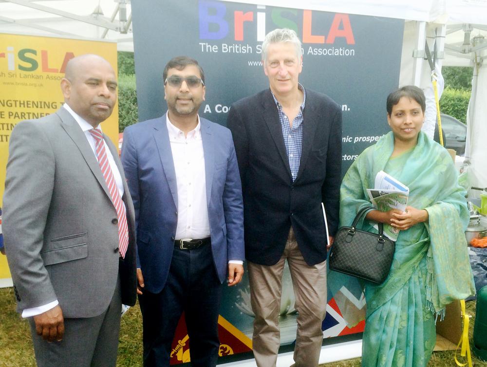 Brisla at Festival of Cricket